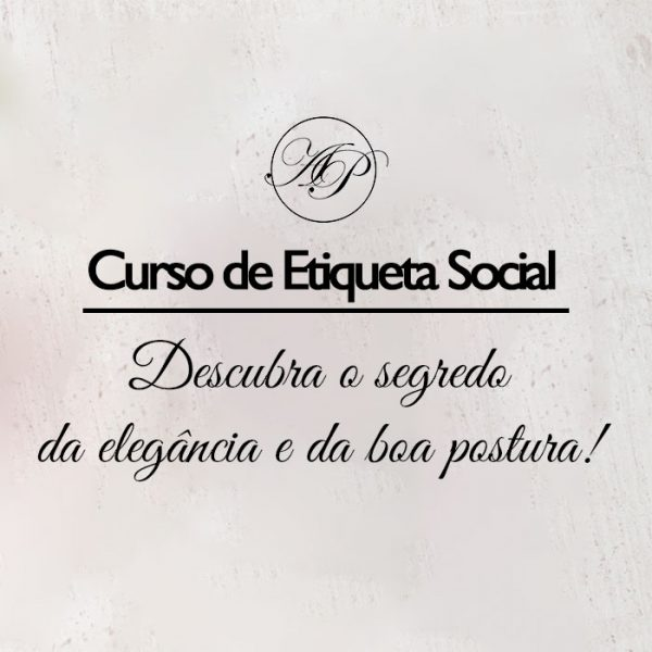 Curso de Etiqueta Social